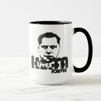 Hoffaは永久に住んでいます マグカップ