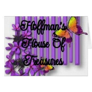 Hoffmansの蝋燭 グリーティングカード