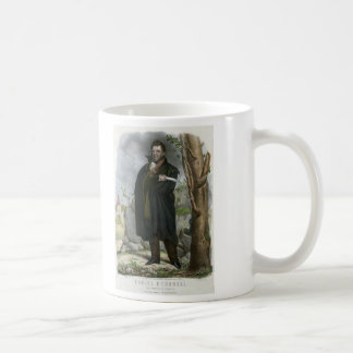 Hoffy著ダニエルO'Connellのポートレート コーヒーマグカップ