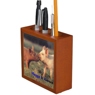 Hoggs及びキスの鉛筆のオルガナイザー ペンスタンド