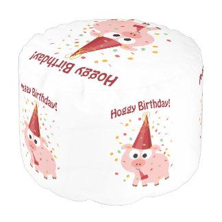 Hoggyの誕生日のブタ プーフ