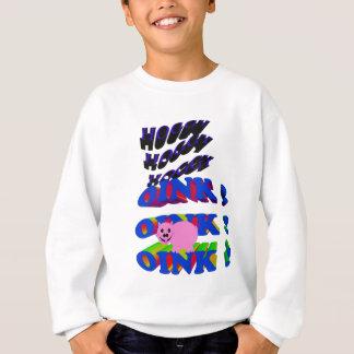 hoggy hoggy hoggy oink oink oink スウェットシャツ