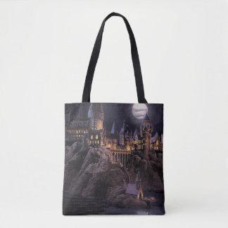 Hogwartsへのハリー・ポッターシリーズのcastle |素晴らしい湖 トートバッグ