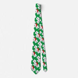 HoHoHoのホルミウム化学要素のクリスマスのしゃれ オリジナルネクタイ