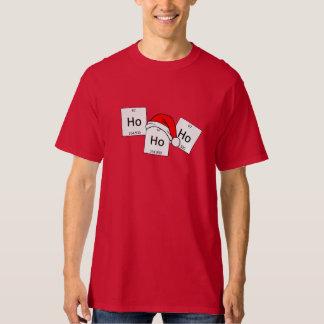 HoHoHoのホルミウム化学要素のクリスマスのしゃれ Tシャツ