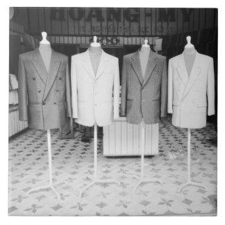 Hoiベトナムの行くカスタムなスーツ 正方形タイル大