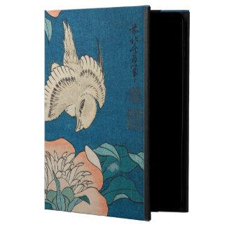Hokusaiのシャクヤクおよびカナリア色のヴィンテージGalleryHD Powis iPad Air 2 ケース
