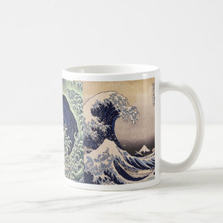Hokusaiの波 コーヒーマグカップ