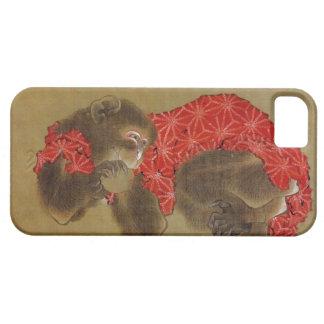 Hokusaiの「猿」のiPhone 5の場合 iPhone SE/5/5s ケース