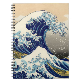Hokusai素晴らしい波のノート ノートブック