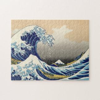 Hokusai素晴らしい波のパズル ジグソーパズル