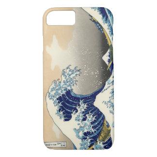 Hokusai素晴らしい波のiPhone 7の例(景色) iPhone 8/7ケース