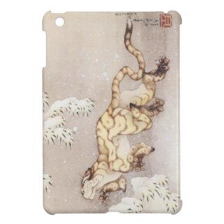 Hokusai著古いトラ iPad Miniケース