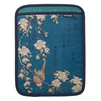 Hokusai著泣くさくらんぼの枝のBullfinch iPadスリーブ