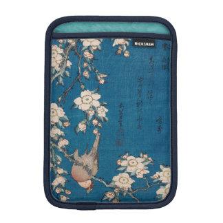 Hokusai著泣くさくらんぼの枝のBullfinch iPad Miniスリーブ