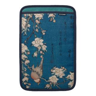 Hokusai著泣くさくらんぼの枝のBullfinch MacBook スリーブ