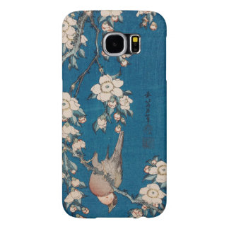 Hokusai著泣くさくらんぼの枝のBullfinch Samsung Galaxy S6 ケース