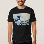 "Hokusai著""素晴らしい波""の日本のな絵画 シャツ"