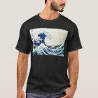 "Hokusai著""素晴らしい波""の日本のな絵画 Tシャツ"