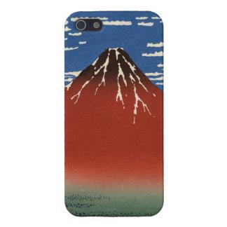 Hokusai赤い富士のiPhone 5の箱 iPhone SE/5/5sケース