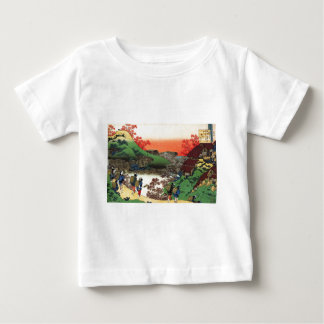 Hokusai -日本のな芸術-日本 ベビーTシャツ