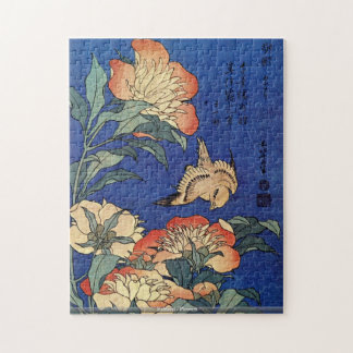 Hokusai -花 ジグソーパズル
