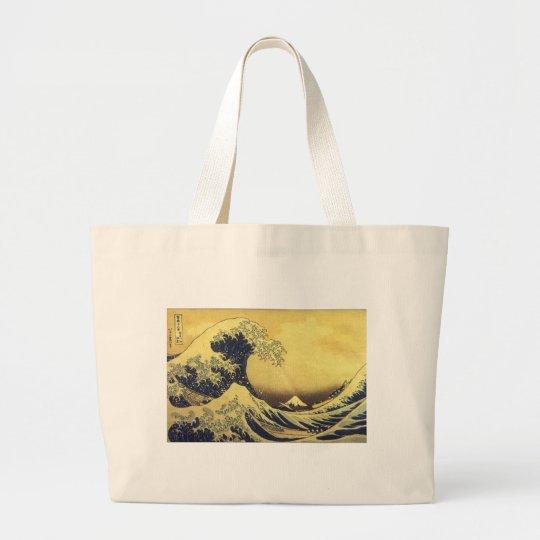 Hokusai -UKIYOE- ラージトートバッグ