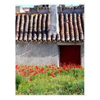 Holaエスパーニャまたはこんにちはスペイン旅行 ポストカード