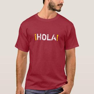 HOLA (こんにちは!) Tシャツ