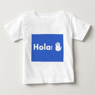 Hola ベビーTシャツ