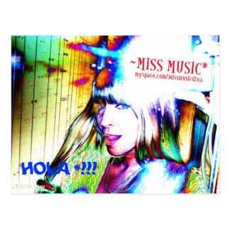 HOLA!! (失敗MUSIC*の郵便はがきとのカメラの時間 ポストカード