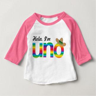 Hola、私はUNOです! ベビーTシャツ