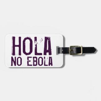 Hola Ebola無し-荷物のラベル ラゲッジタグ