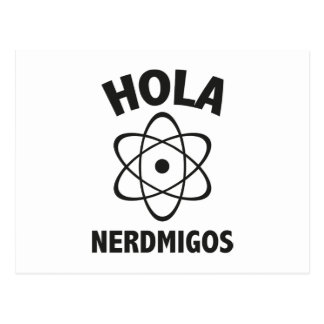 Hola Nerdmigos ポストカード