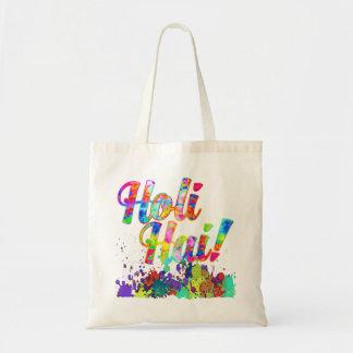 HOLI HAI色のしぶきI + あなたのアイディア トートバッグ