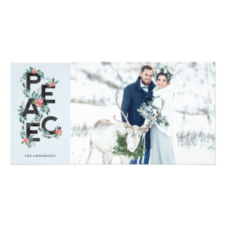 Holiday Berries Photo Card カード