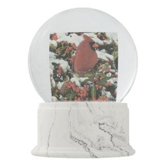 Holiday Cardinal Snow Globe スノーグローブ