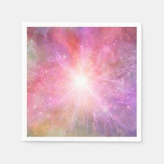 holiES -多彩な宇宙粉の雲 スタンダードカクテルナプキン