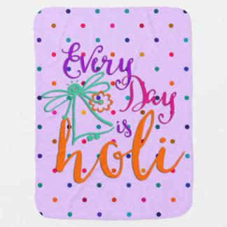holiES - Holiは毎日あります + あなたのbackgr。 及びアイディア ベビー ブランケット