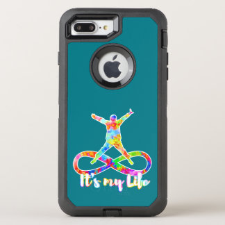 holiES - Lemniscate -それは私の生命人です オッターボックスディフェンダーiPhone 8 Plus/7 Plusケース