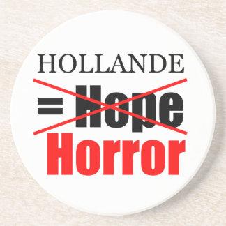 Hollandeのない希望=恐怖-円形のコースター コースター