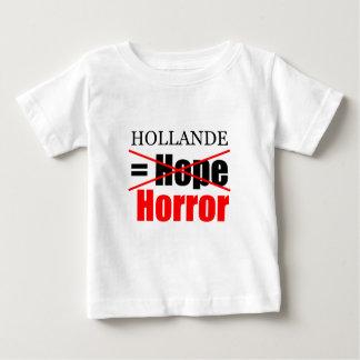 Hollandeのない希望=恐怖-幼児のティー ベビーTシャツ