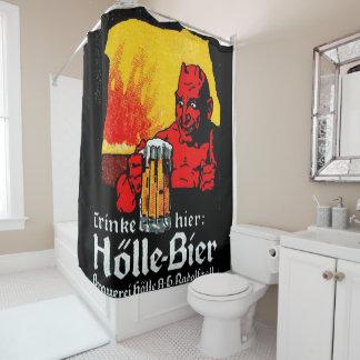 holleのbier シャワーカーテン