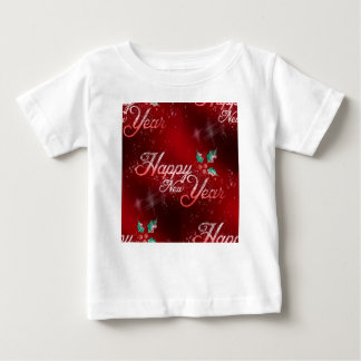 holly happy new year ベビーTシャツ