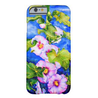 Hollyhocks Barely There iPhone 6 ケース