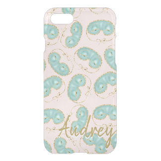 Holly's Sleeping Mask Pattern Personalized iPhone 8/7 ケース