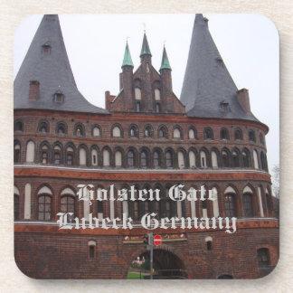 Holstenのゲート-リューベックドイツ コースター