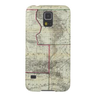 Holtの新しい地図、ワイオミング Galaxy S5 ケース