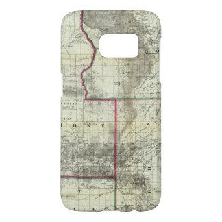 Holtの新しい地図、ワイオミング Samsung Galaxy S7 ケース