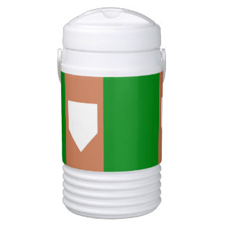 HOME PLATE Igloo Beverage Cooler, Half Gallon ドリンククーラー